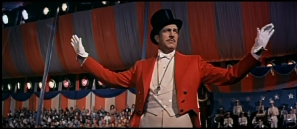 Vincent Price in The Big Circus (1959)