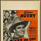 Gene Autry, Smiley Burnette, Dorothea Kent, Cliff Nazarro, Joe Strauch Jr., and Ruth Terry in Call of the Canyon (1942)