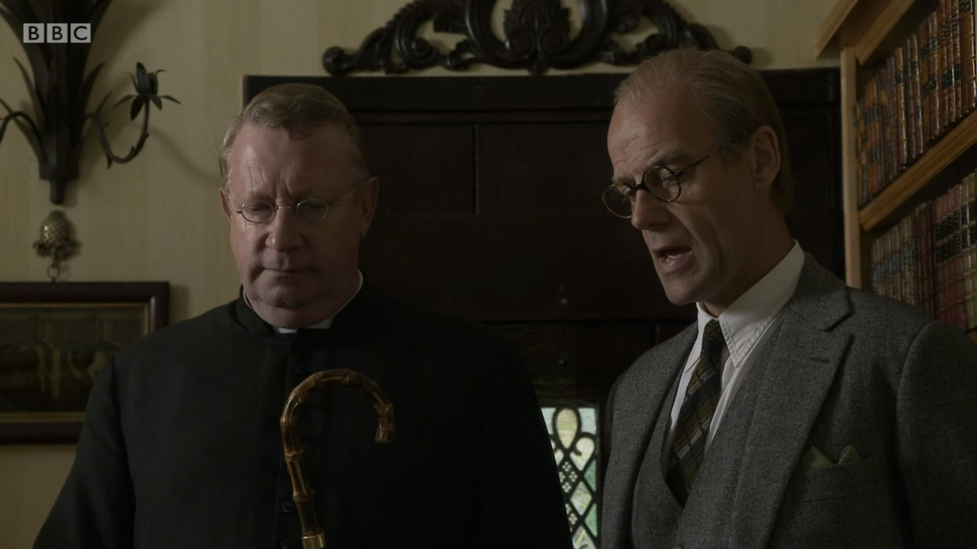 Pip Torrens and Mark Williams in Father Brown (2013)