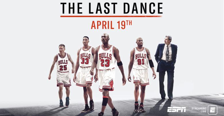 Plakát k dokumentu The Last Dance