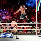 John Cena and Miroslav Barnyashev in WWE: Battleground (2017)