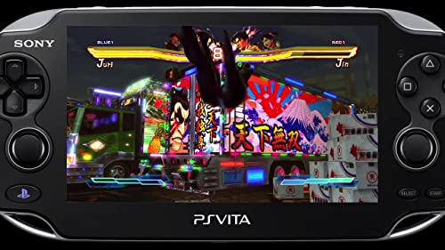 Street Fighter X Tekken: Vita Gameplay 1
