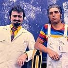 Erik Clausen and Leif Sylvester in Clausen & Petersen (1978)