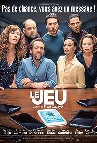 Bérénice Bejo, Suzanne Clément, Vincent Elbaz, Roschdy Zem, Stéphane De Groodt, Grégory Gadebois, and Doria Tillier in Le jeu (2018)