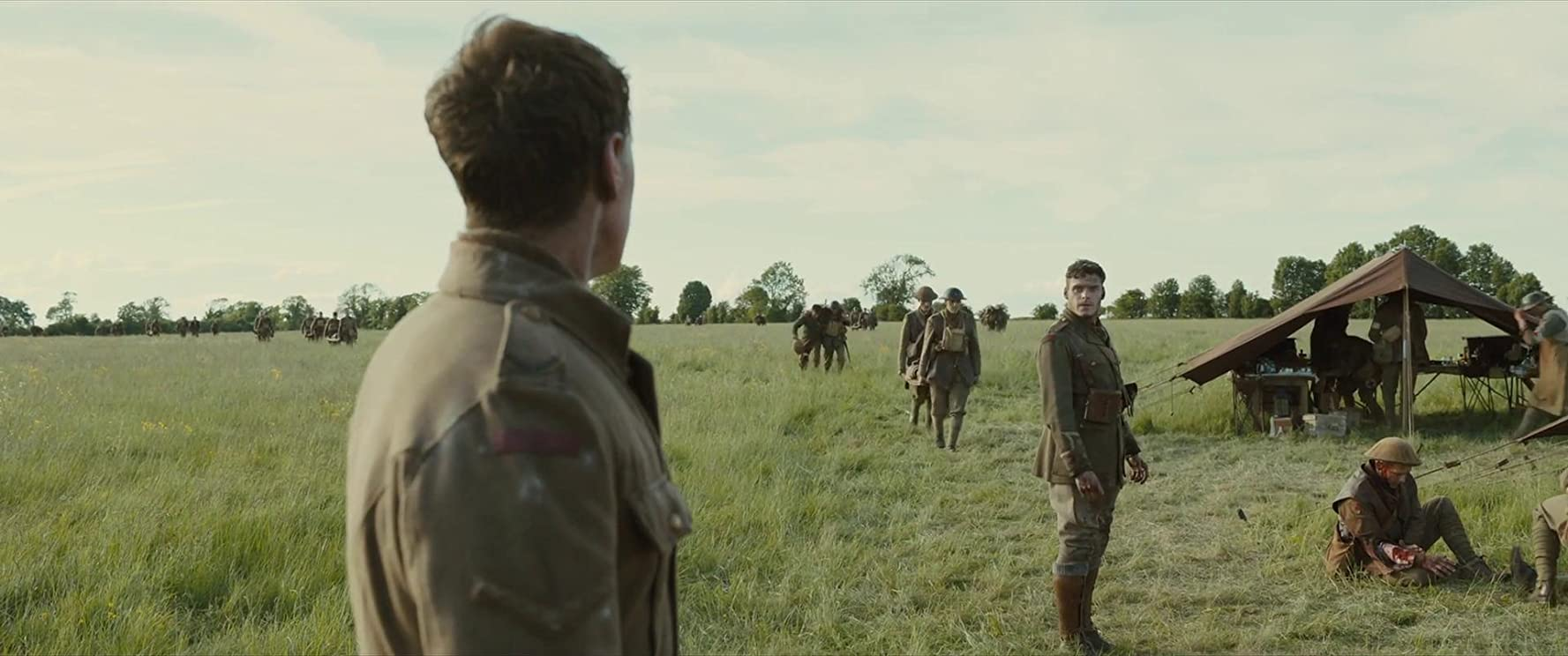 Richard Madden and George MacKay in 1917 (2019)