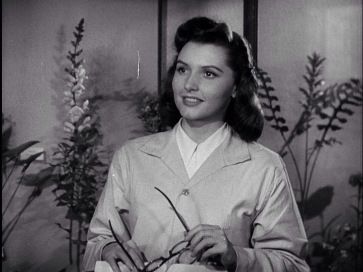 Patricia Barry in The Tattooed Stranger (1950)
