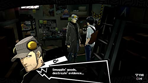 Persona 5: Confidants: Introducing Munehisa Iwai (UK)