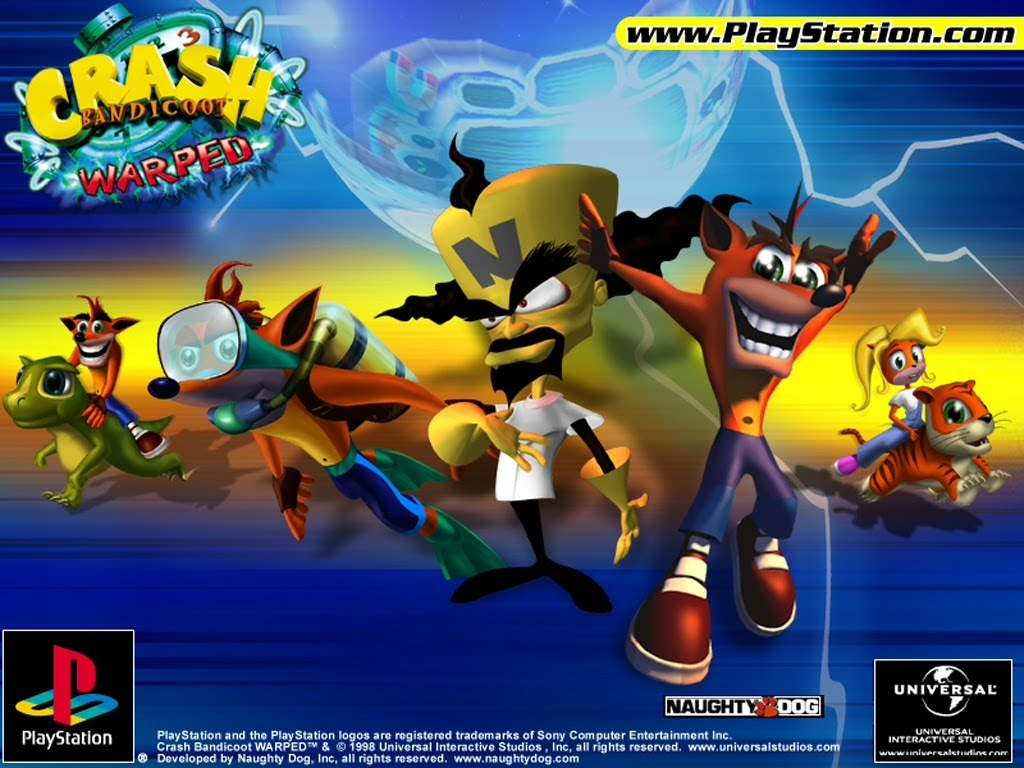Crash Bandicoot: Warped (1998)