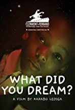 What Did You Dream?