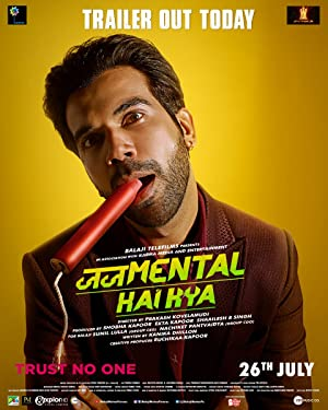 Judgementall Hai Kya Movie Poster