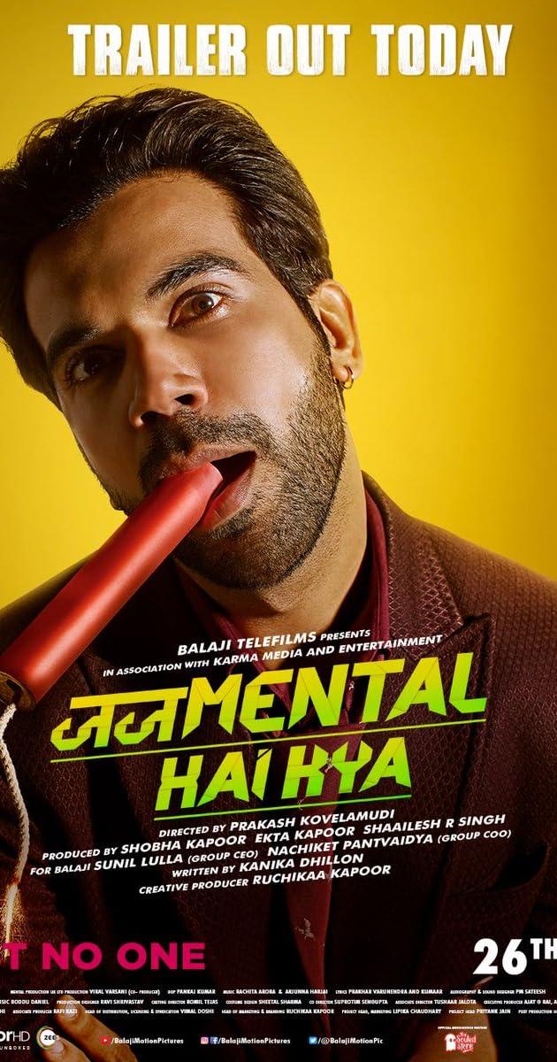 Judgementall Hai Kya (2019) Hindi 720p HDRip x264 AAC ESubs [SM Team]