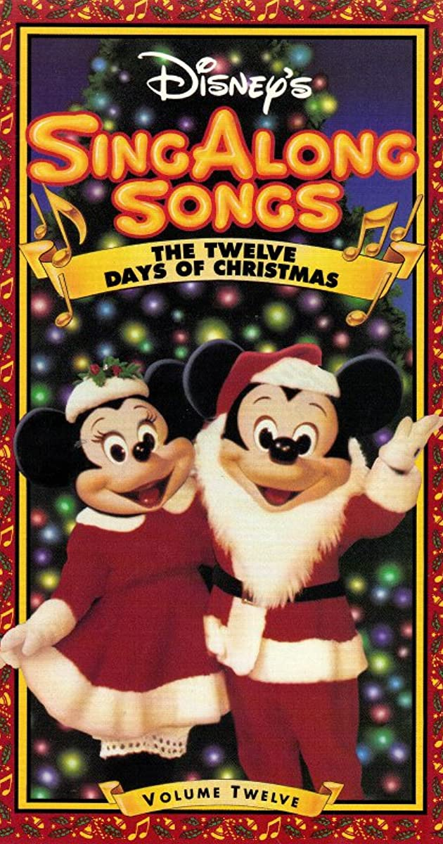 2020 Christmas Sing-A-Long San Diego Disney Sing Along Songs: The Twelve Days of Christmas (Video 1993