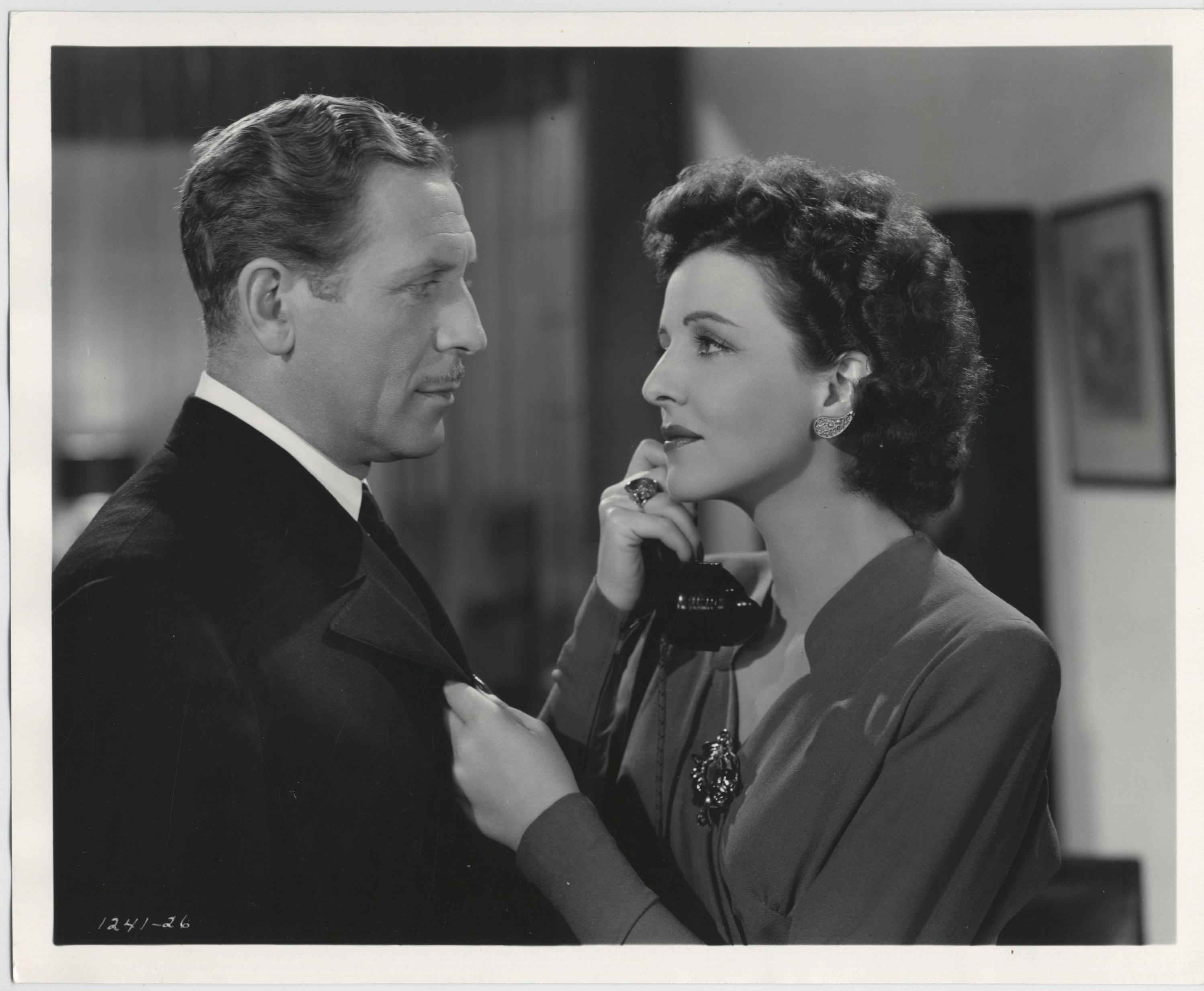 Paul Cavanagh and Mona Maris in Pacific Rendezvous (1942)