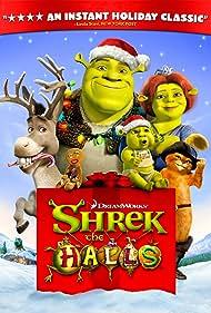 Antonio Banderas, Cameron Diaz, Mike Myers, Eddie Murphy, and Conrad Vernon in Shrek the Halls (2007)
