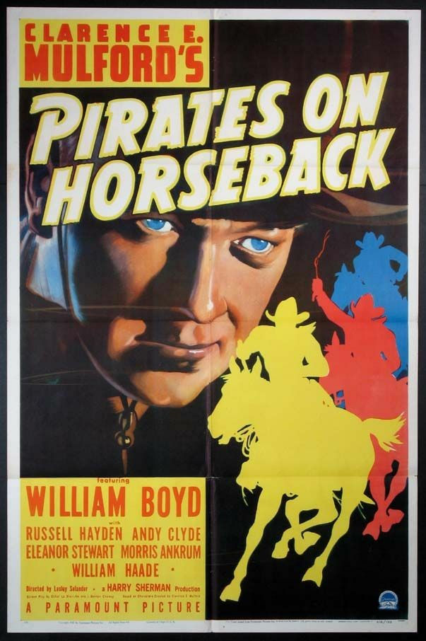 William Boyd in Pirates on Horseback (1941)
