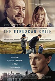 Rosanna Arquette, Thora Birch, Brian Cox, and JJ Feild in The Etruscan Smile (2018)