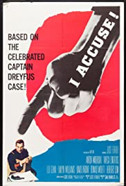 I Accuse! Poster