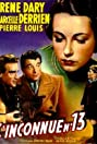 L'inconnue n° 13 (1949) Poster