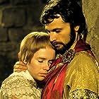 Franco Nero and Liv Ullmann in Pope Joan (1972)