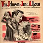 June Allyson, Van Johnson, and Marilyn Maxwell in High Barbaree (1947)