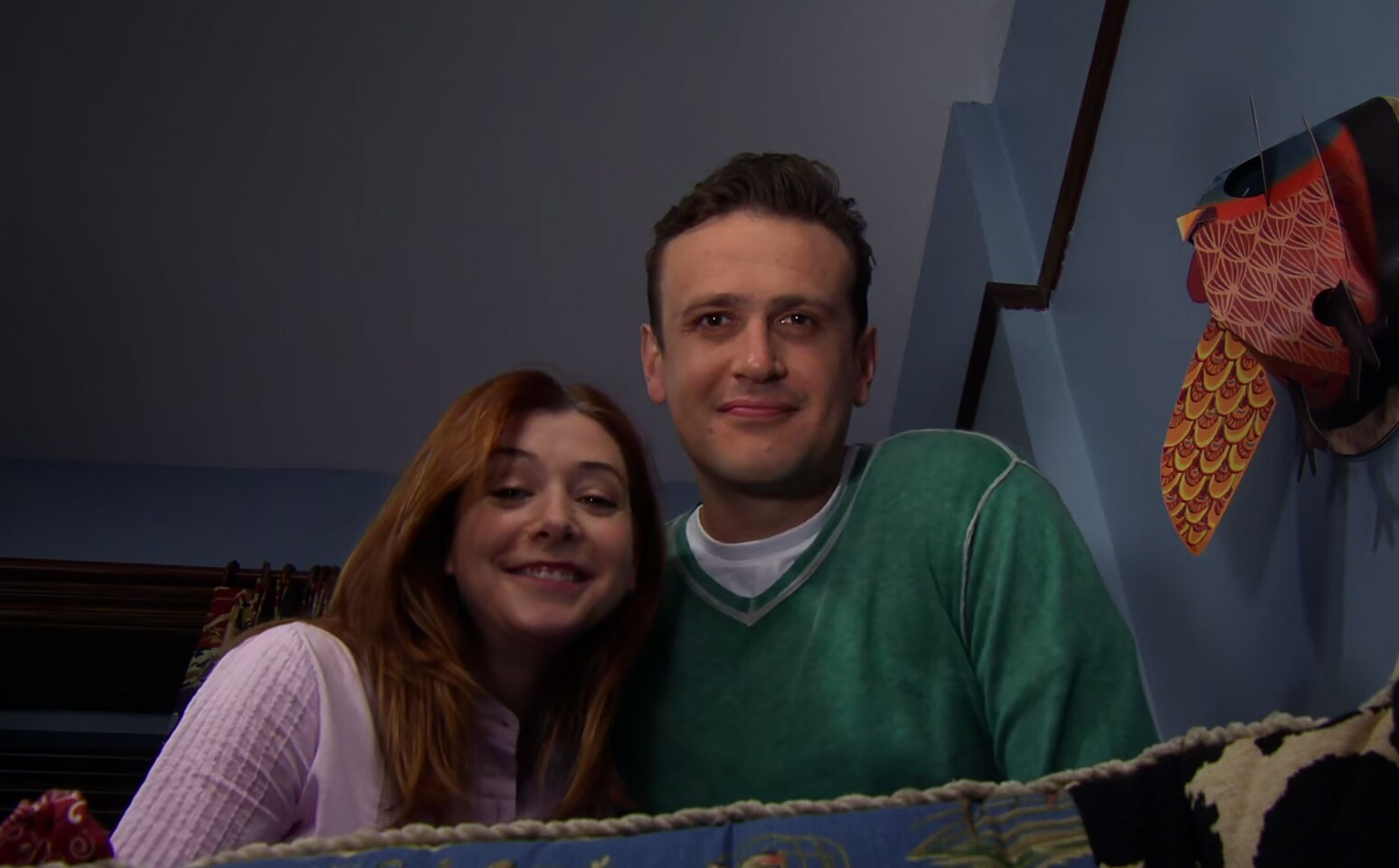 Alyson Hannigan and Jason Segel in How I Met Your Mother (2005)