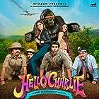 Rajpal Yadav, Shloka Pandit, Aadar Jain, and Elnaaz Norouzi in Hello Charlie (2021)