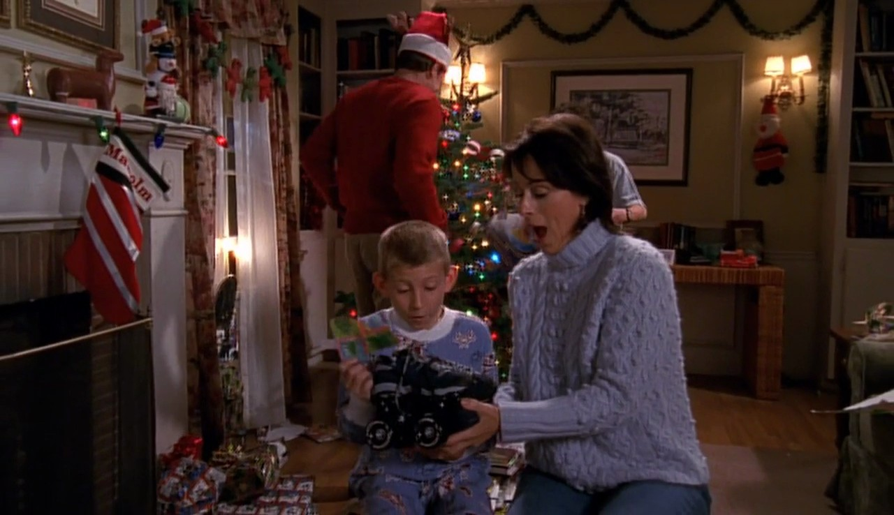 Malcolm In The Middle Christmas.Christmas 2001