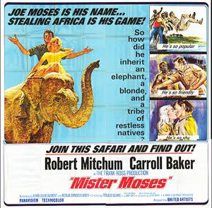 mister moses 1965 dvd