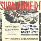 Pat O'Brien, George Brent, Frank McHugh, Wayne Morris, and Doris Weston in Submarine D-1 (1937)