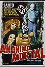 Santo en Anónimo mortal (1975) Poster