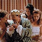 Viktor Preiss, Sárka Ullrichová, Tereza Groszmannová, and Sabina Králová in O trech ospalých princeznách (1998)