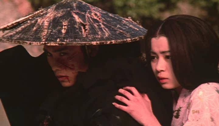 Tak Sakaguchi and Chieko Misaka in Versus (2000)