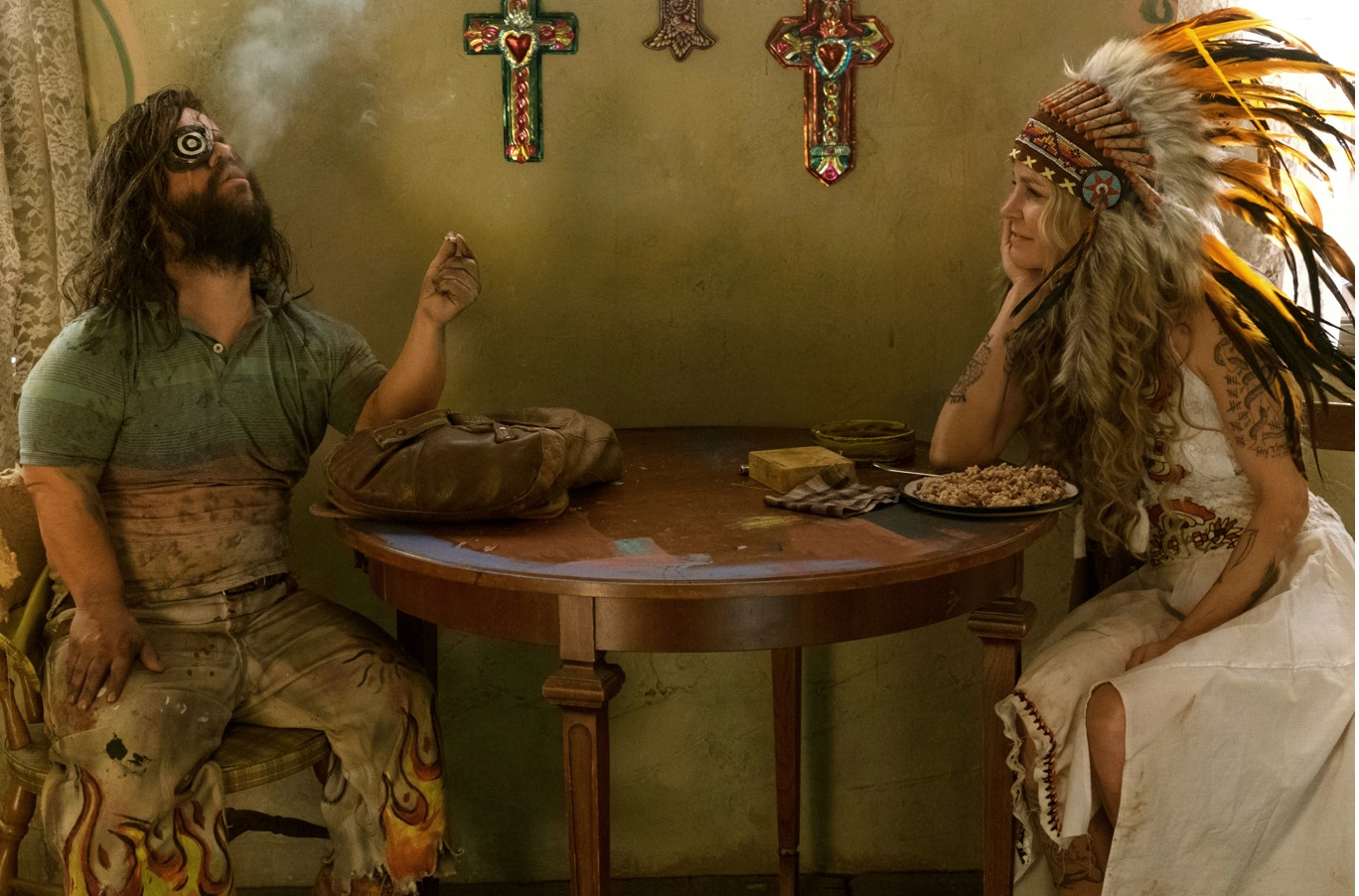 Sheri Moon Zombie and Pancho Moler in 3 from Hell (2019)