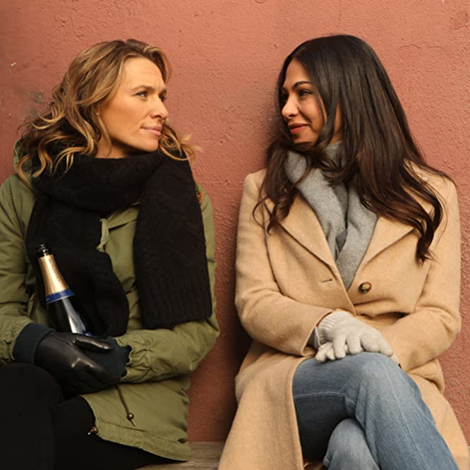 Moran Atias and Michaela McManus in The Village (2019)