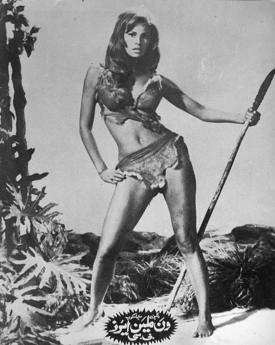 Raquel Welch in One Million Years B.C. (1966)