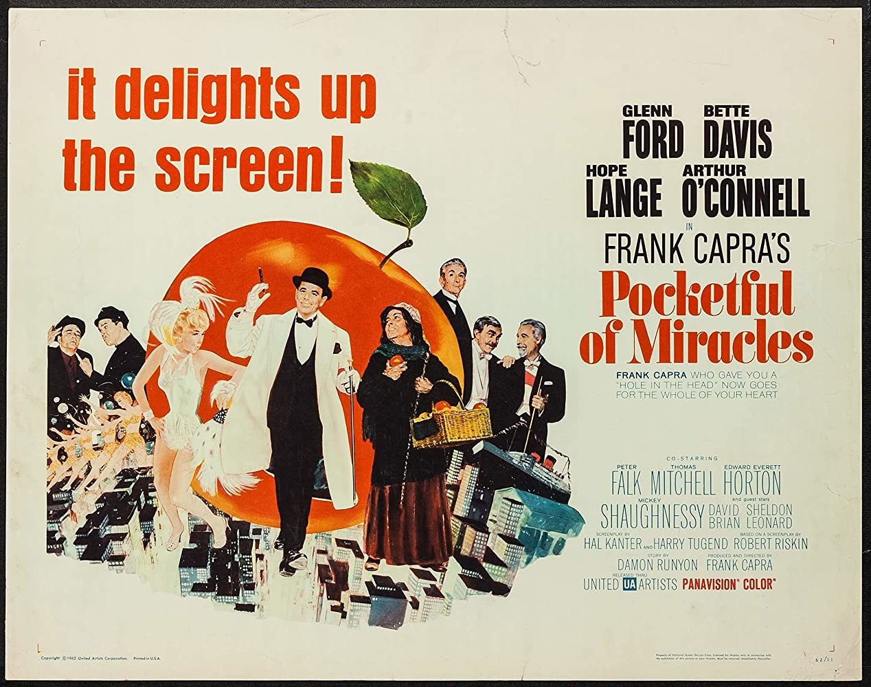 Image result for pocketful of miracles 1961