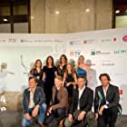 Giampiero Judica, Roberto Davide, Elisa Amoruso, Sebastiano Pigazzi, Nikolay Moss, Emma Lo Bianco, and Linda Zampaglione in Time Is Up (2021)