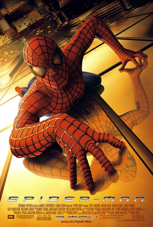 Spider Man (2002) BluRay x264 [1080p-720p-480p] [Hindi DD5.1+ English DD5.1] AAC ESUB