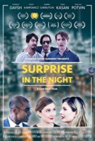Maxx Karpowicz, Sam Bhat, Charlot Daysh, Steve Kasan, Gabriel Gherutchi, and Pascale Potvin in Surprise in the Night (2020)