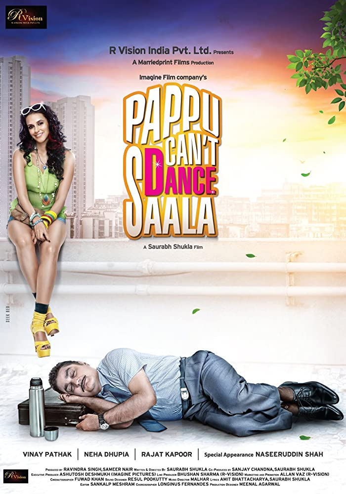 Pappu Can't Dance Saala 2011 Hindi Movie WebRip 300mb 480p 1GB 720p