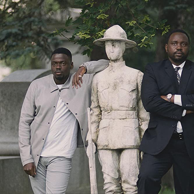 Daniel Kaluuya and Brian Tyree Henry in Widows (2018)
