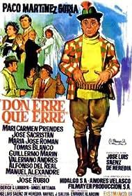 Don Erre que erre (1970) Poster - Movie Forum, Cast, Reviews