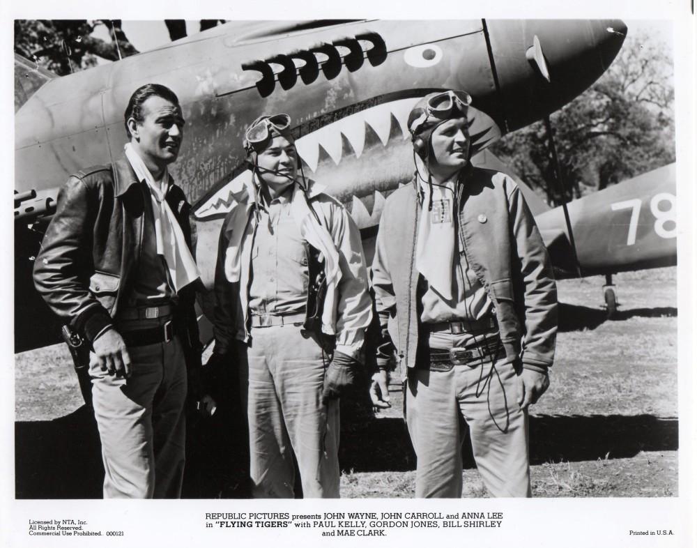 Flying Tigers 1942 John Wayne movie poster print 2