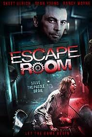 Skeet Ulrich, Sean Young, Randy Wayne, Ashley Gallegos, Matt McVay, Hayley Goldstein, and Christine Donlon in Escape Room (2017)