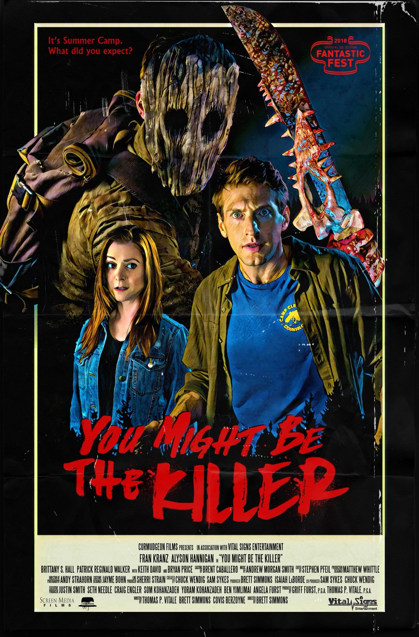 You Might Be the Killer (2018) WEBRip 720p