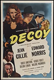 Decoy (1946) Poster - Movie Forum, Cast, Reviews