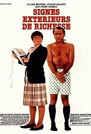 Signes extérieurs de richesse(1983) Poster - Movie Forum, Cast, Reviews