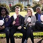 Susan Wokoma, Arinzé Kene, Lewis Reeves, and Cara Theobold in Crazyhead (2016)