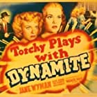 Sheila Bromley, Loia Cheaney, Allen Jenkins, Tom Kennedy, and Jane Wyman in Torchy Blane.. Playing with Dynamite (1939)