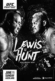 UFC Fight Night: Lewis vs. Hunt Poster